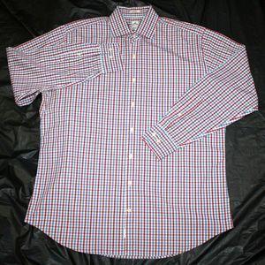 Peter Millar Long Sleeve Shirt Size 17 Long